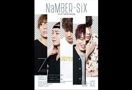 """NaMBER-SiX,"" Da-iCE fan club newsletter"